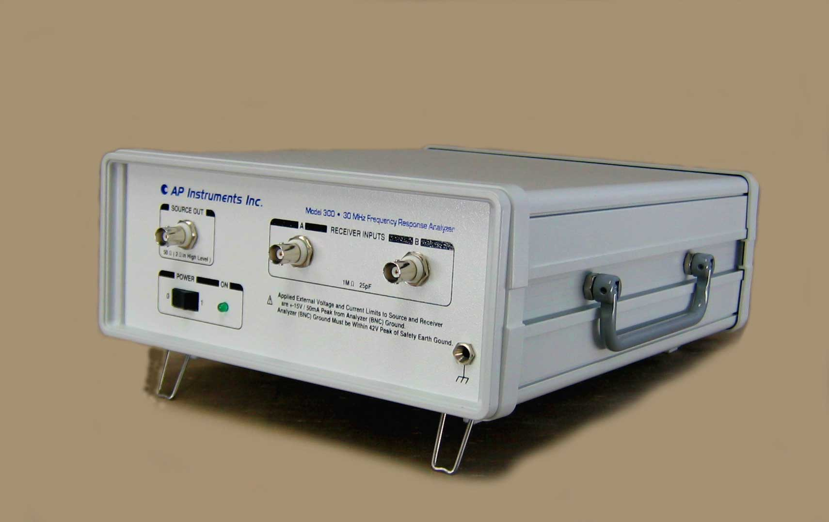 Frequency Response Analyzer : Ap instruments home page