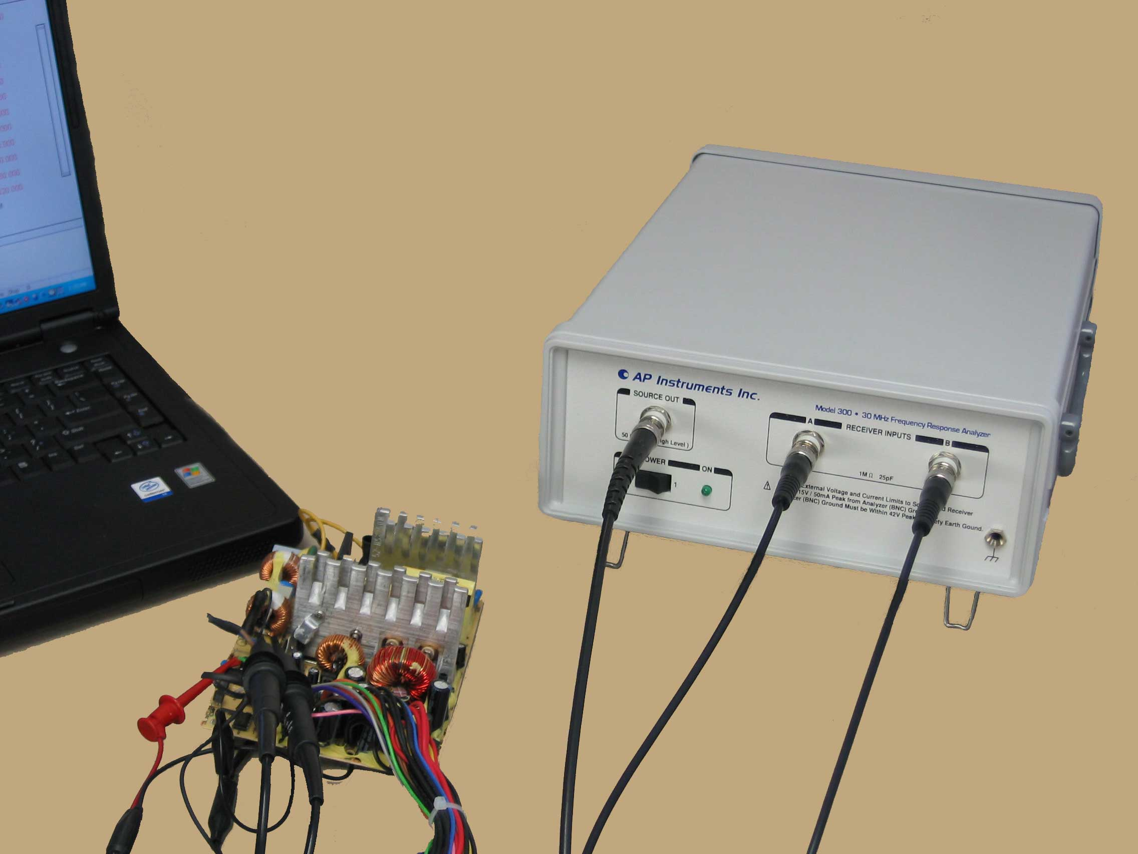 Frequency Response Analyzer : Ap instruments products